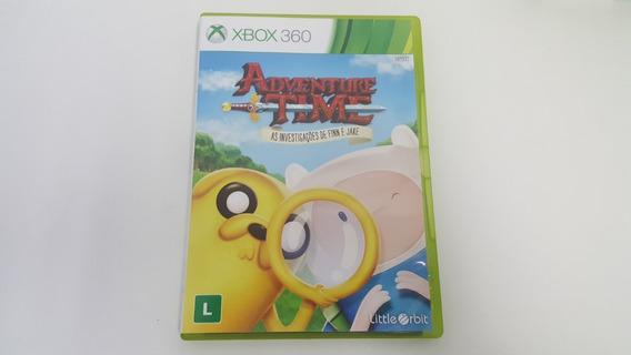 Adventure Time Investigações De Finn E Jake - Xbox 360 Usado