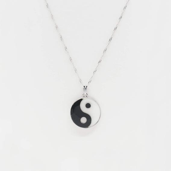 Colar Mandala Yin Yang Proteçãoe Equilibrio