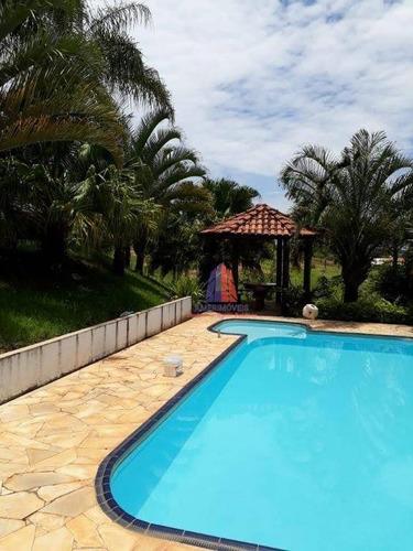 Imagem 1 de 23 de Chácara Com 3 Dormitórios À Venda, 24000 M² Por R$ 1.000.000,00 - Jardim São João - Limeira/sp - Ch0040