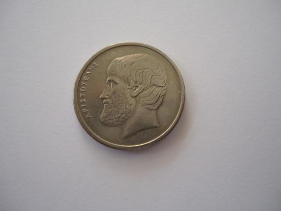 Moeda Níquel 5 Apaxmai 1978 República Grécia