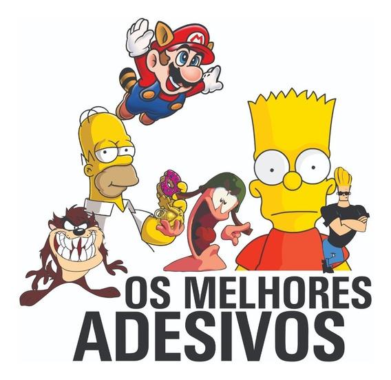 Adesivos Os Simpsons E Muito Mais 20 Unidades