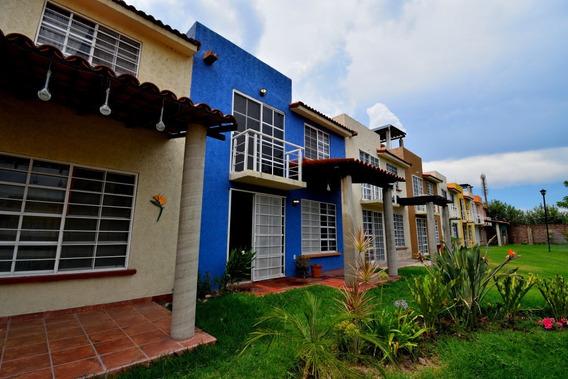 Casa En Jocotepec, Amueblada En Coto Con Alberca