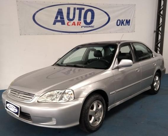 Honda Civic Lx 1.6 Automático 1999