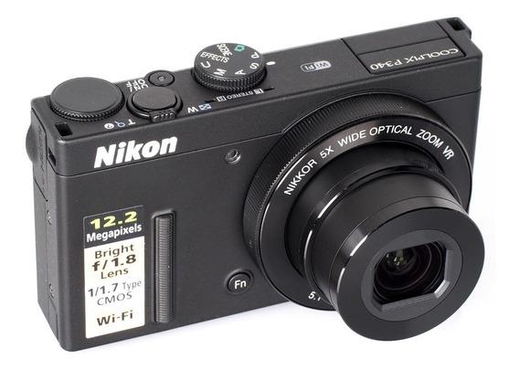 Câmera Nikon Coolpix P340 - Wifi