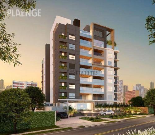 Apartamento Com 3 Dormitórios À Venda, 168 M² Por R$ 1.771.206,90 - Juvevê - Curitiba/pr - Ap3358