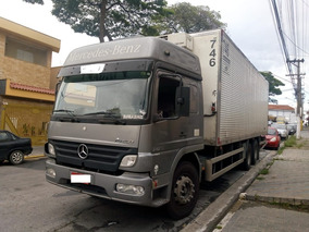 M Benz 2425 Cabinado T. Alto/no Chassi Ano 2012