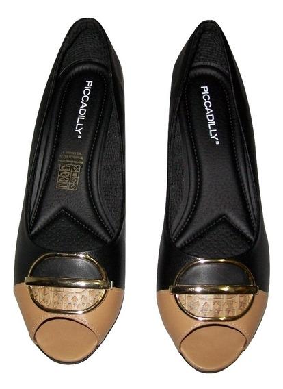 Sapato Salto Baixo Piccadilly Original