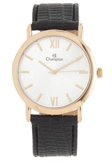 Relógio Champion Ch22699m Dourado/preto