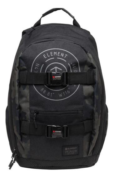 Mochila Element Mohave Backpack Black Negra Azul
