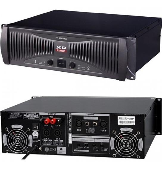 Amplificador De Potencia Xp 2000 Gy, 660 Watts, Phonic