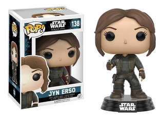Funko Pop 138 Star Wars Rogue One Jyn Erso Playking