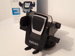Suporte Veicular Universal Para Smartphone/gps/ios Trava Aut