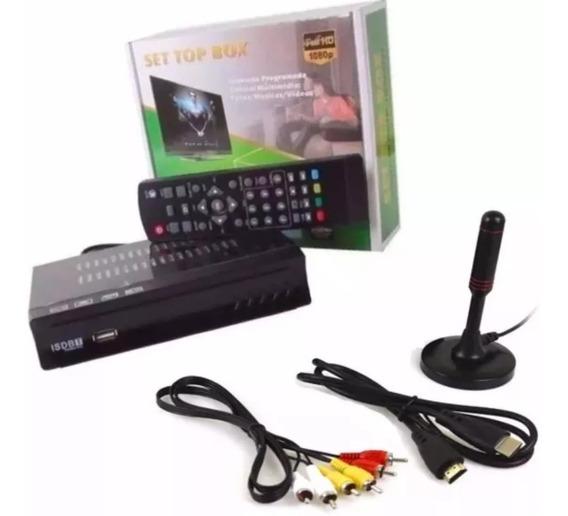 Conversor Digital Tv+ Antena Digital Interna Cabo 4.3mts