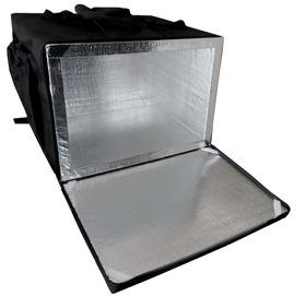 Mochila Bolsa Térmica 40cm Entrega Pizza Revestida Aluminio