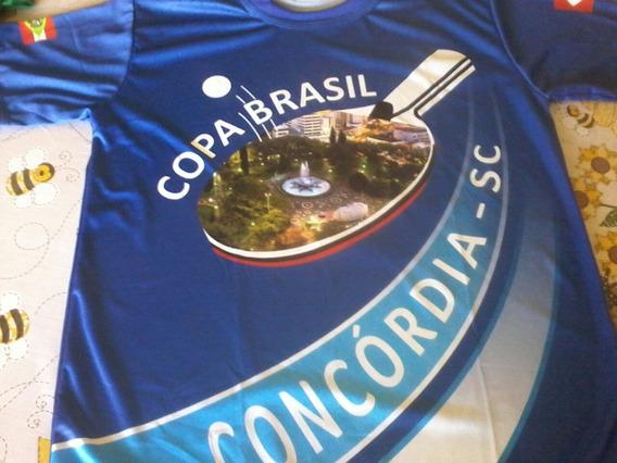 Camisetas Copa Brasil Concordia De Tênis De Mesa