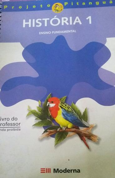 Projeto Pitangua História 1 Livro Do Professor