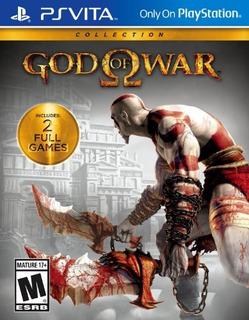 Colección God Of War Playstation Vita Original Importado