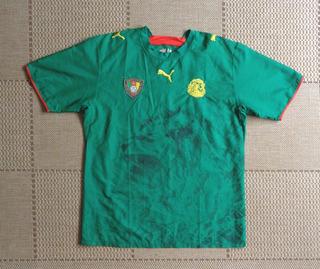 Camisa Original Camarões 2006/2007 Home
