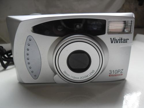 Maquina Fotográfica Vivitar 310pz Analógica. Rara