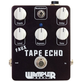 Pedal Delay & Echo Wampler Faux Tape Echo