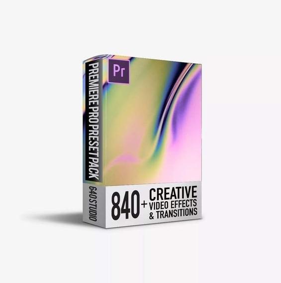 840 Transições Pack Para Adobe Premiere Cc - 2019