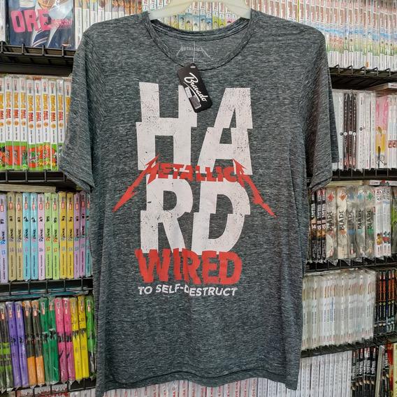 Metallica Hard Wired Camiseta Máscara De Látex