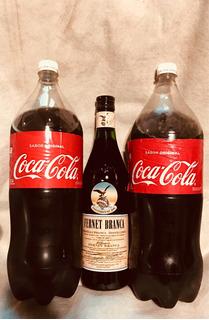 Fernet Branca 750 + 2 Cocas 2 1/2 Lts Descartables