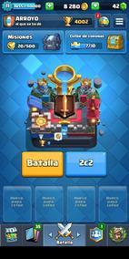 Cuenta Clash Royale