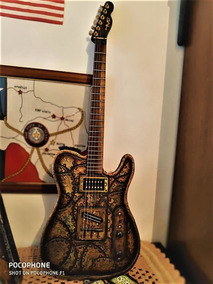 Guitarra Telecaster Rusty Bronze Hot Machine-troco