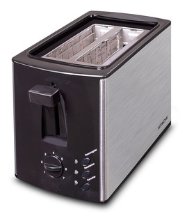 Tostadora Hitachi 850w Hto-p100ar 7 Niveles Acero Inox