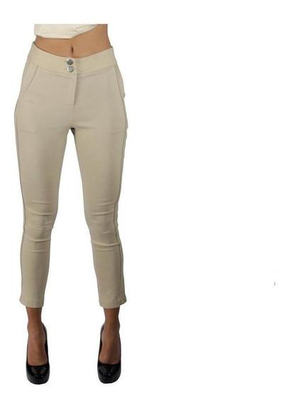 Pantalón Dama Mujer Moda Casual/formal Milennium Kakhy Comod