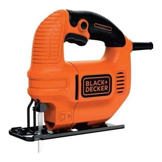 Sierra Caladora 420w Black + Decker Ks501-b2