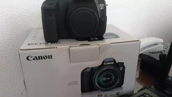 Canon 6d, Tripé Universal 1,20 Cm, Flashjy610ii