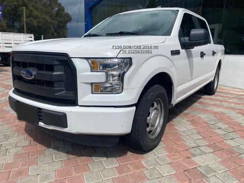 Imagen 1 de 10 de Ford F150 Dob/cab Xl V6 3.5 Lts Aut Tela Eng $