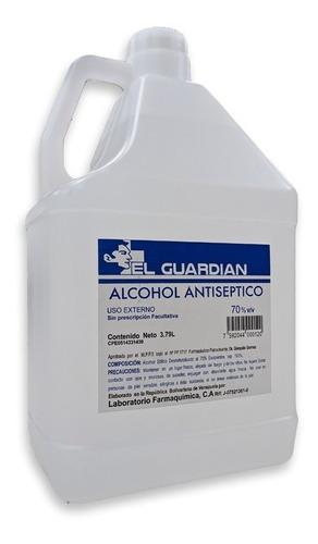Imagen 1 de 3 de Alcohol Antiseptico De 3.79 Galon