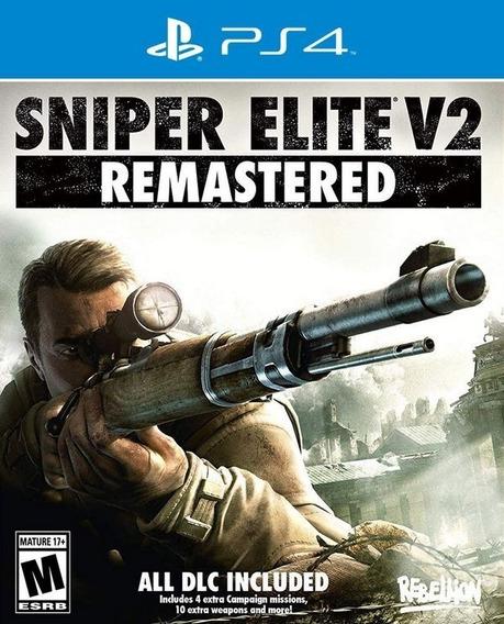 Sniper Elite V2 Remastered Ps4 Digital Primária Promoção