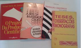 4 Livros Metodologia Científica /tcc/ Monografia Promoção!