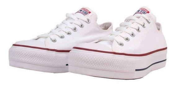 Tênis Converse All Star Chuck Taylor Plataforma Branco