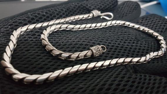 Cordão De Prata 925 Bali
