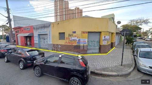 Imagem 1 de 4 de Terreno À Venda, 219 M² Por R$ 1.200.000 - Casa Branca - Santo André/sp - Te0124