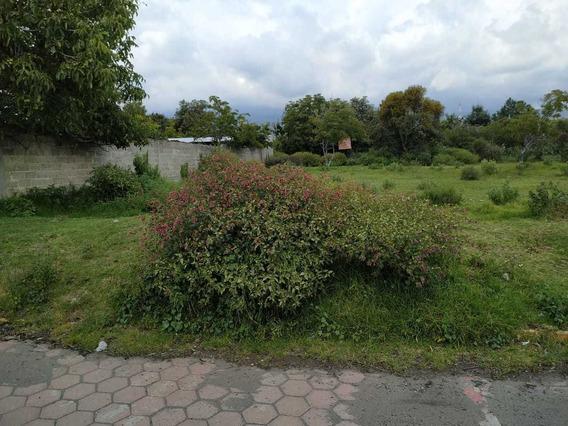 Terreno 670m² En San Andrés Hueyacatitla