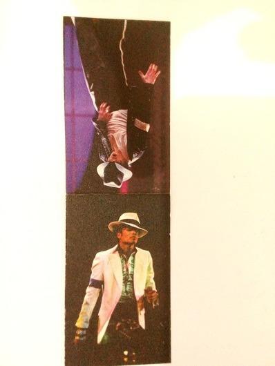 Marcador Livro Com Imã Michael Jackson Item De Colecionador