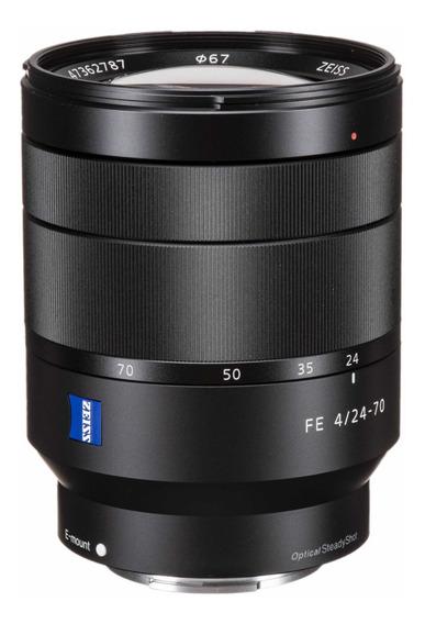 Sony Fe 24-70mm F/4 Za Oss Lente 24-70