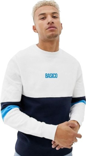 Franelas Long Sleeve Caballero Basico Clothing Combinadas #2