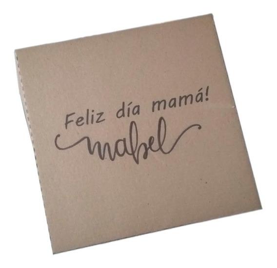 Remera De Diseño + Caja Personalizada. Dia De La Madre