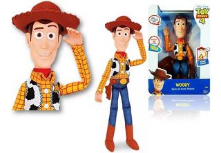 Toy Story 4 Woody El Comisario Parlante Sonido Español 40cm