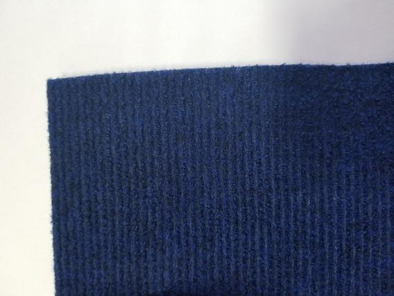 Alfombra Tapizmel Acanalada Jean Boucle Azul Celeste X M2