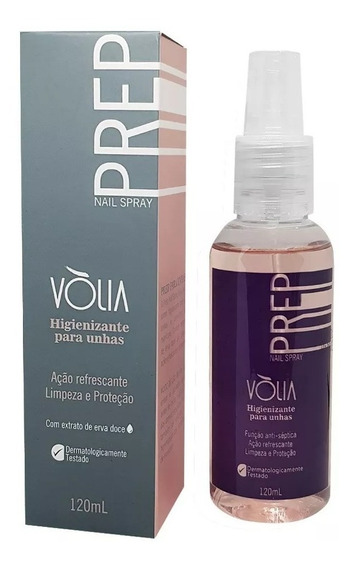 Prep Nail Spray Volia Higienizador 120 Ml