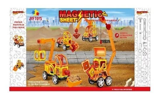 Bloques Magnéticos Didácticos X87 Jyf Toys