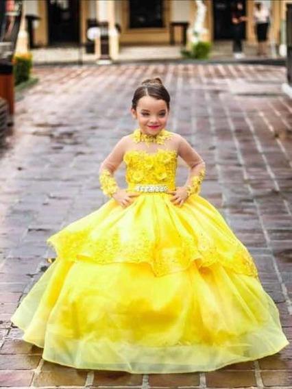 Vestido Elegante Amarillo